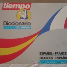 Libros de segunda mano: DICCIONARIO ESPAÑOL - FRANCÉS / FRANCÉS - ESPAÑOL (ED. TIEMPO) AÑO 1986. Lote 16758508