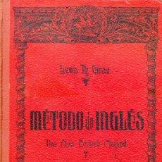 Libros de segunda mano: METODO DE INGLES GIRAU - 1956. Lote 27388272