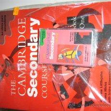 Libros de segunda mano: CURSO DE INGLÉS THE CAMBRIDGE SECONDARY COURSE NUEVO A ESTRENAR AÑOS 80-90. Lote 27406359
