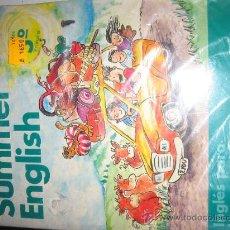 Libros de segunda mano: SUMMER ENGLISH CURSO DE IDIOMAS 5º PRIMARIA-BURLINGTON BOOKS- NUEVO A ESTRENAR CON CASSETTE.. Lote 23241742