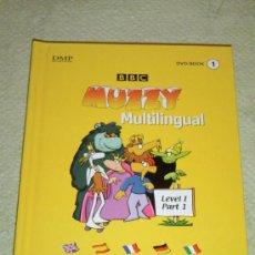 Libros de segunda mano: IÑI LIBRO DVD. BBC. MUZZY. MULTILINGUAL LEVEL I. PART 1. LOTE ALFA.. Lote 30326187