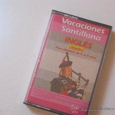Libros de segunda mano: CASSETTE VACACIONES SANTILLANA ALUMNOS 8 A 11 AÑOS NUEVO A ESTRENAR.. Lote 31646443
