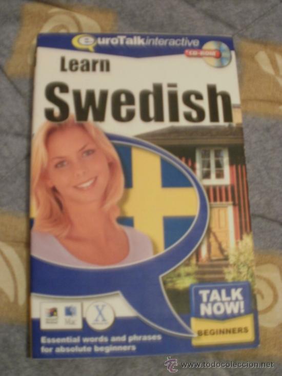 CDROM LEARN SWEDISH (Libros de Segunda Mano - Cursos de Idiomas)