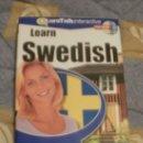 Libros de segunda mano: CDROM LEARN SWEDISH. Lote 32077375