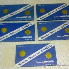 Libros de segunda mano: ANTIGUO METODO UNIVERSAL CAMPO. CURSO DE INGLES 60 AÑOS ANTIGÜEDAD. Lote 32270533