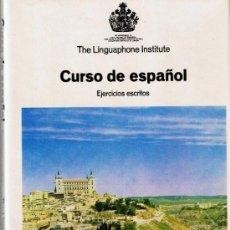 Libros de segunda mano: MALETIN - CURSO IDIOMA ESPAÑOL - CURSO DE ESPAÑOL PARA HOLANDA -1980- FOTOS ADICIONALES. Lote 32850028