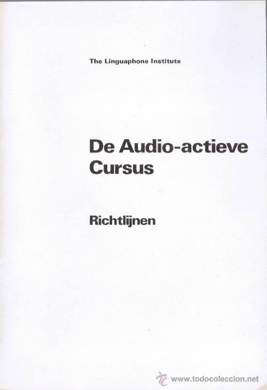 Libros de segunda mano: MALETIN - CURSO IDIOMA ESPAÑOL - CURSO DE ESPAÑOL PARA HOLANDA -1980- FOTOS ADICIONALES - Foto 6 - 32850028