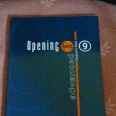 Libros de segunda mano: OPENING 9. ADVANCED. STUDENT'S BOOK. Lote 37075169