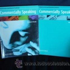 Libros de segunda mano: COMMERCIALLY SPEAKING. OXFORD UNIVERSITY PRESS. MARK IRVINE AND MARION CADMAN. Lote 39771978