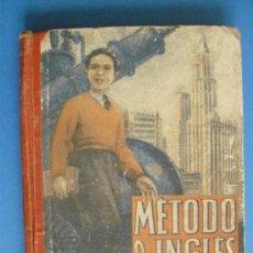 Libros de segunda mano: Nº 034.-METODOS DE INGLES TERCER GRADO.-ED.LUIS VIVES.-ZARAGOZA 1950. Lote 33307380