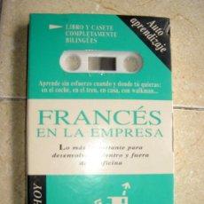 Libros de segunda mano: FRANCES EN LA EMPRESA. IDIOMAS HOY AUTOAPRENDIZAJE. DIFUSION. VINTAGE PRECINTADO. Lote 34069560
