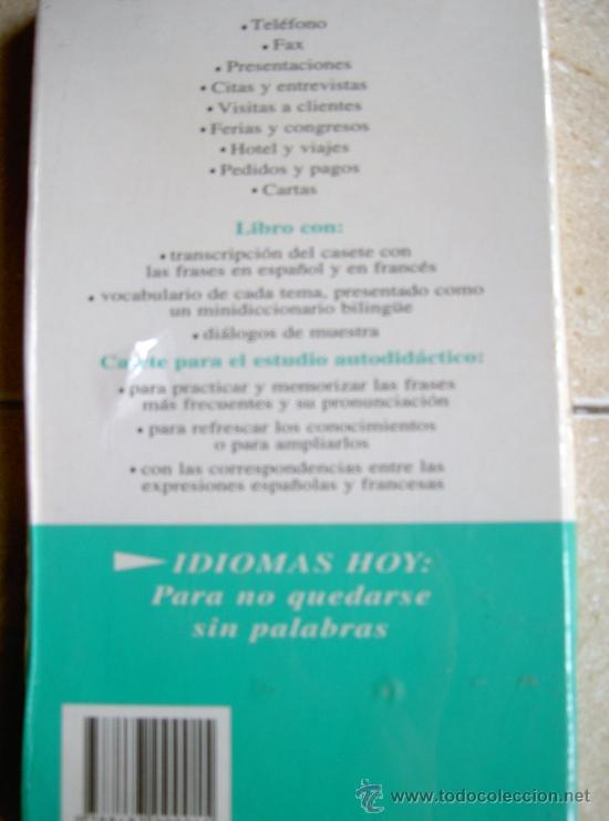 Libros de segunda mano: FRANCES EN LA EMPRESA. IDIOMAS HOY AUTOAPRENDIZAJE. DIFUSION. VINTAGE PRECINTADO - Foto 2 - 34069560