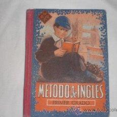 Libros de segunda mano: METODO DE INGLES PRIMER GRADO EDELVIVES ZARAGOZA 1957. Lote 34404971