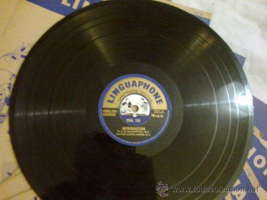 Libros de segunda mano: Linguaphone. Curso de inglés. 16 discos - Foto 8 - 35444432