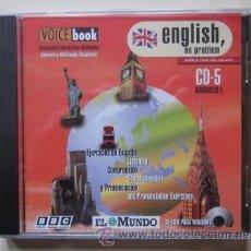Libros de segunda mano: CD ROM . ENGLISH, NO PROBLEM - BBC / EL MUNDO Nº 5 - NUEVO, PRECINTADO. Lote 125855620