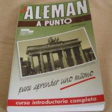 Libros de segunda mano: EL ALEMAN A PUNTO - PARA APRENDER UNO MISMO - RUTH RACH.. Lote 36086258