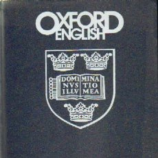 Libros de segunda mano: OXFORD ENGLISH (10 TOMOS) (A-CURSO-031). Lote 243593425