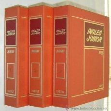 Libros de segunda mano: CURSO DE INGLÉS JUNIOR BBC CASTOR & POLUX-SALVAT 1978 - INCOMPLETO. Lote 100092467