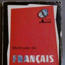 Libros de segunda mano: CURSO PRÁCTICO DE FRANCÉS COMERCIAL (MÉTODO MASSÉ) MÉTHODE DE FRANÇAIS (1968). Lote 37847191