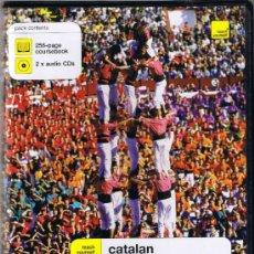 Libros de segunda mano: ESTUCHE CON LIBRO Y DOS CD'S - APRENDER A LEER, ESCRIBIR Y COMPRENDER EL CATALÁN - POCH - YATES. Lote 38217719