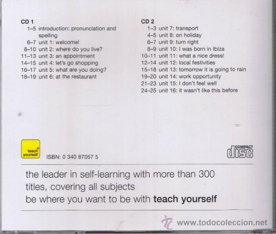 Libros de segunda mano: ESTUCHE CON LIBRO Y DOS CDS - APRENDER A LEER, ESCRIBIR Y COMPRENDER EL CATALÁN - POCH - YATES - Foto 2 - 38217719