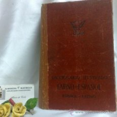 Libros de segunda mano: AÑO 1944.- DICCIONARIO ILUSTRADO LATINO-ESPAÑOL.- SEGUNDA EDICIÓN.- EDITORIAL SPES.S.A. Lote 38504736