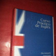 Libros de segunda mano: DICCIONARIO ESPAÑOL - INGLÉS. CURSO PRÁTICO DE INGLÉS. EDITORIAL PLANETA DEAGOSTINI. BARCELONA. 1999. Lote 39539435