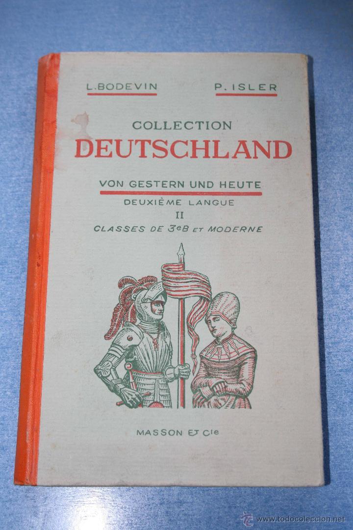 COLLECTION DEUTSCHLAND VON GESTERN UND HEUTE (Libros de Segunda Mano - Cursos de Idiomas)