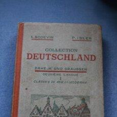 Libros de segunda mano: COLLECTION DEUTSCHLAND DAHEIM UND DRAUSSEN. Lote 39826890