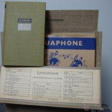 Libros de segunda mano: CURSO DE INGLES, LINGUAPHONE, COMPLETO DISCOS Y LIBRO. Lote 40753599