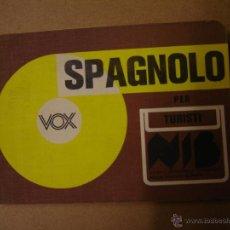 Libros de segunda mano: SPAGNOLO PER TURISTI. Lote 41117381