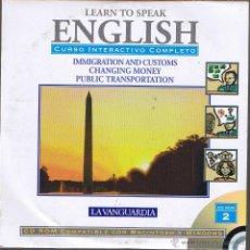Libros de segunda mano: CD - LEARN TO SPEAK ENGLISH - Nº 2 LA VANGUARDIA. Lote 41567154