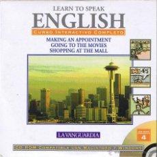 Libros de segunda mano: CD - LEARN TO SPEAK ENGLISH - Nº 4 LA VANGUARDIA. Lote 41567159