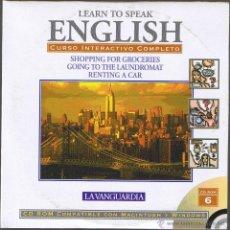 Libros de segunda mano: CD - LEARN TO SPEAK ENGLISH - Nº 6 LA VANGUARDIA. Lote 41567168