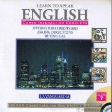Libros de segunda mano: CD - LEARN TO SPEAK ENGLISH - Nº 7 LA VANGUARDIA. Lote 41567173