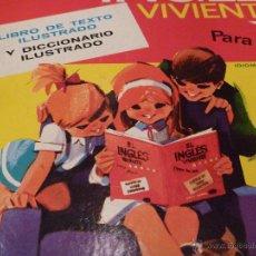 Libros de segunda mano: CURSO INGLES VIVIENTE PARA LOS NIÑOS. Lote 41813587
