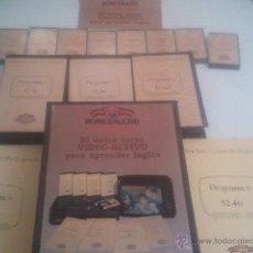 Libros de segunda mano: CURSO HOME ENGLISH EL UNICO CURSO VIDEO ACTIVO VHS MAS DE 20 AÑOS. Lote 42182699