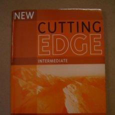 Libros de segunda mano: CUTTING EDGE -INTERMEDIATE - WORKBOOK - JANE COMYNS Y FRANCES EALES. Lote 42194733