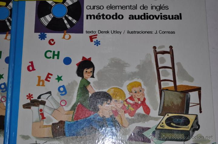 CURSO ELEMENTAL DE INGLÉS. MÉTODO AUDIOVISUAL. DOS TOMOS. DEREK UTLEY (TEXT.) RM65078 (Libros de Segunda Mano - Cursos de Idiomas)