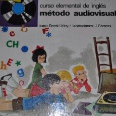 Libros de segunda mano: CURSO ELEMENTAL DE INGLÉS. MÉTODO AUDIOVISUAL. DOS TOMOS. DEREK UTLEY (TEXT.) RM65078. Lote 42250875