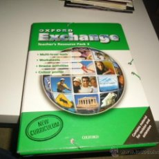 Libros de segunda mano: OXFORD EXCHANGE TEACHER,S RESOURCE PACK 3 OXFORD. Lote 42374819