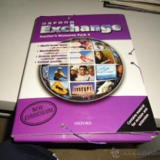 Libros de segunda mano: OXFORD EXCHANGE TEACHER,S RESOURCE PACK 4. Lote 42374981