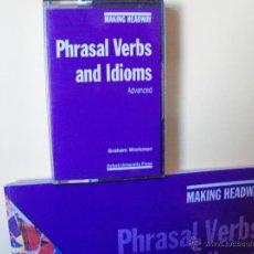 Libros de segunda mano: CURSO DE INGLÉS.PHRASAL VERBS AND IDIOMS.OXFORD UNIVERSITY PRESS.IDIOMAS.. Lote 42857344