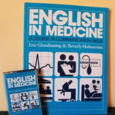 Libros de segunda mano: CURSO DE INGLÉS.ENGLISH IN MEDICINE. CAMBRIDGE UNIVERSITY PRESS. IDIOMAS.. Lote 42857599