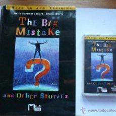 Libros de segunda mano: LIBRO MAS CASETE THE BIG MISTAKE AND OTHER STORIES. NELLA BURNETT. BLACK CAT. Lote 45055396