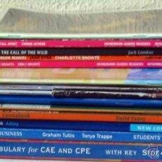 Libros de segunda mano: LOTE DE LIBROS Y REVISTAS PARA EL ESTUDIO Y LA PRÁCTICA DEL INGLÉS - VER DESCRIPCIÓN Y FOTOS. Lote 46560440