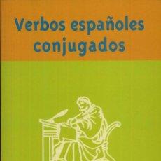Libros de segunda mano: VERBOS ESPAÑOLES CONJUGADOS PALMA RUBIO 228 PAG ----(REF M1 E1). Lote 50162681