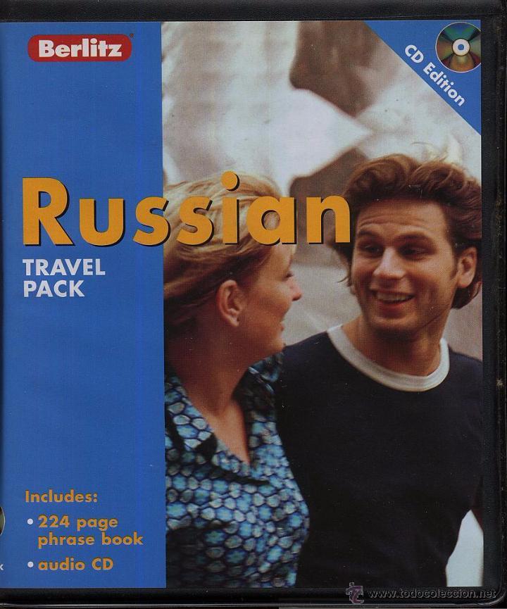 RUSSIAN TRAVEL PACK 1 LIBRO INGLES Y RUSO 224 PAG Y 1 CDROM ----- (REF M1 E1) (Libros de Segunda Mano - Cursos de Idiomas)