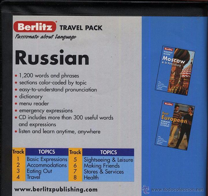 Libros de segunda mano: RUSSIAN TRAVEL PACK 1 LIBRO INGLES Y RUSO 224 pag Y 1 CDROM ----- (ref M1 E1) - Foto 2 - 50174417
