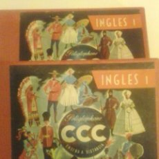Libros de segunda mano: CURSO DE INGLES CCC DEL AÑO 1945. Lote 50430993